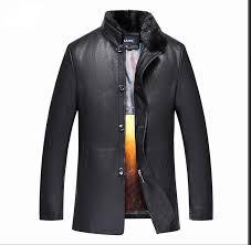 leather jacket men s winter