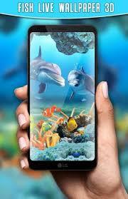 fish live wallpaper 3d aquarium free
