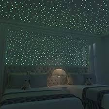 Amazon Com Glow In The Dark Stars Is Kids Bedroom Decor Glow In The Dark Stars For Ceiling 524pcs Dots Ceiling Stars Wall Stickers For Bedroom Good For Kids Room Decor Too Baby