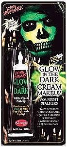 glow in the dark cream makeup partyworld