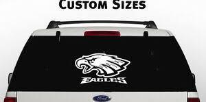 Philadelphia Eagles Window Decal Graphic Sticker Nfl Car Truck Suv Van Gift Ebay