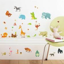 Paper Riot Co Wall Decor 85 Decals Animals Kid Room Baby For Sale Online Ebay