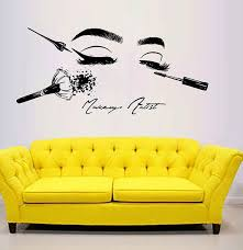 Top 10 Most Popular Make Up Wall Decals List And Get Free Shipping A139
