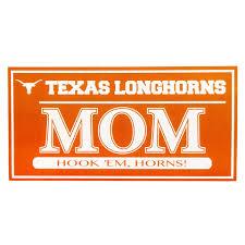 Texas Longhorns True Pride Mom Decal University Co Op