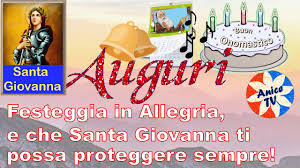 Buon Onomastico - Santa Giovanna! ? ? ? ? ? ?❤ AUGURI ...