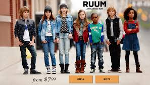 ruum clothes for kids starting at just