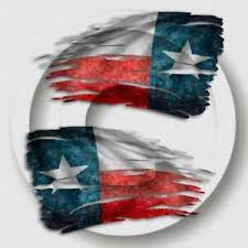Texas State Tattered Flag Decal Lone Star Distressed Window Flag 2 Decals Ebay
