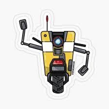 Claptrap Stickers Redbubble