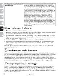 Risincronizzare Il Sistema Smaltimento Della Batteria Petsafe Wireless Pet Containment System Pif 300 21 User Manual Page 118 144 Original Mode