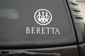 Beretta Gun Sticker Vinyl Decal Nra Window 3 Pick Size 15cm Buy At The Price Of 3 03 In Aliexpress Com Imall Com
