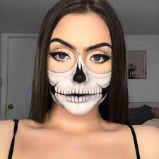 skeleton makeup y easy and