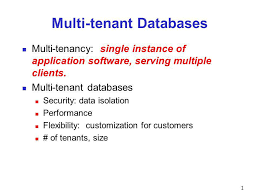 Predicting System Performance for Multi-tenant Database Workloads Mumtaz  Ahmad 1, Ivan Bowman 2 1 University of Waterloo, 2 Sybase, an SAP company.  - ppt download