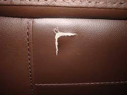 how to repair tear in leather couch