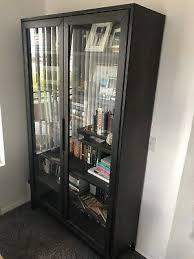 ikea hemnes glass door cabinet shelf