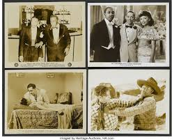 "Hi-De-Ho Lot (All-American, 1947). Stills (4) (8"" X 10"", b&w). 