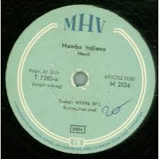 Myrna Bell - Mambo Italiano / Sentimental Journey, 14,50 €