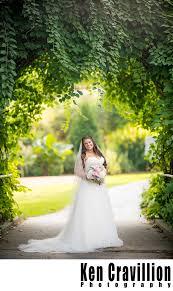 botanical garden wedding in green bay