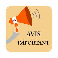 RAPPEL IMPORTANT - Avis d'inscription... - Institut Spécialisé de ...