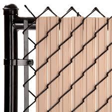 Maximum Privacy Beige Solitube Slats For 4ft Chain Link Fence Walmart Com Walmart Com