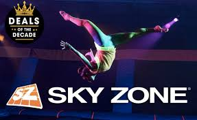 troline jump pes at sky zone
