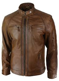 color bikers er leather jacket