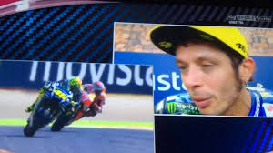 Sky Sport MotoGP HD ~ Intervista Post Gara Aragon 2016 ~ Valentino Rossi -  YouTube