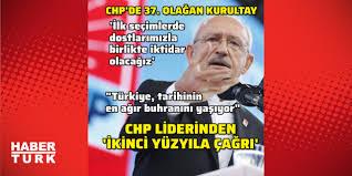 CHP Kurultayı 2020! Kılıçdaroğlu: İlk seçimde dostlarımızla ...