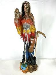 Santa Muerte Mother Divine Feminine Metaphysical Wonder Woman Mary Grim  Reaper   eBay