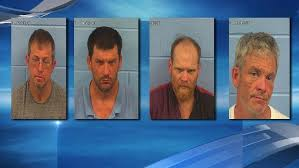 Four men arrested in connection to Etowah County burglary   WBMA