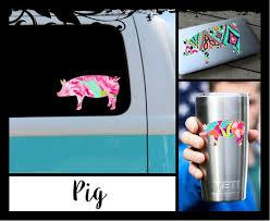 Pig Decal Ozark Tumbler Decal Laptop Car School Book Etsy