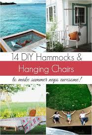 14 diy hammocks and hanging swings to