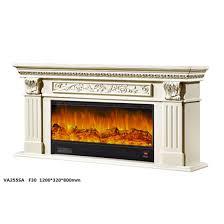 modern fireplace white surround