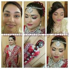 bridal makeup and hair packages in
