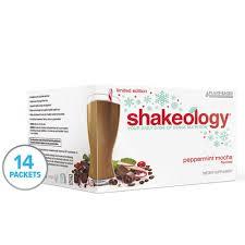 shakeology peppermint mocha plant based