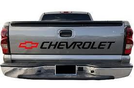 Chevrolet Bed Sticker Window Decals Silverado Cheyenne Trucks Chevy Bow Ebay