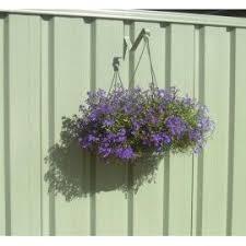 Colorbond Fence Hanging Basket Hangup Fence Plants Hanging Pots Hanging Plants