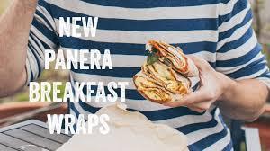 breakfast wraps from panera bread