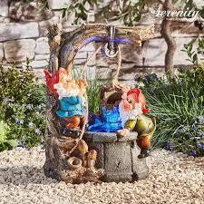 serenity gnome wishing well water