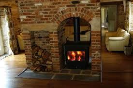 double sided wood burning stoves