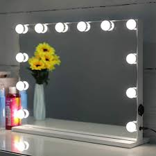 showtime lighted makeup vanity mirror
