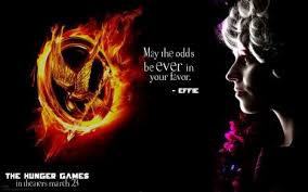 """Effie...""""May the odds be ever in your favor"""" 