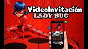 Video Invitacion Miraculous Ladybug Youtube