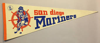 San Diego Mariners Window Decal Sportshistorycollectibles Com