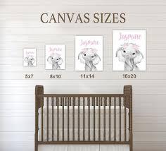Custom Initial Name Wall Art For Kids Room Inno Merch
