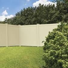 Upc 040933143962 Freedom Contractor Hampton Sand Flat Top Privacy Vinyl Fence Panel Common 72 I Upcitemdb Com