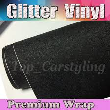 1 52x20m Roll Black Glitter Sparkle Vinyl Car Wrap Sticker With Air Bubble Free Decal Cars Laptops Furniture Stickers Stickers Sticker Wrapstickers Black Aliexpress