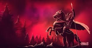 Odin et Sleipnir Origine du Père Noël - Jeux Midva