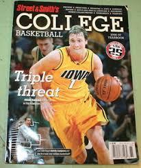 2006 - 2007 STREET & SMITHS COLLEGE BASKETBALL YEARBOOK ADAM HALUSKA cover    eBay