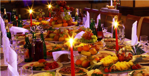 Image result for christmas dinner mexico""
