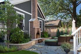 outdoor living space with patio